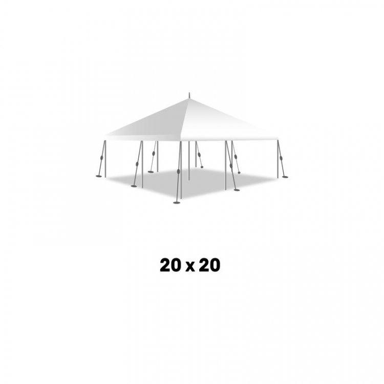 20ft x 20ft Pole Tent