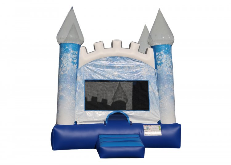 Ice Castle Bounce House (Large)