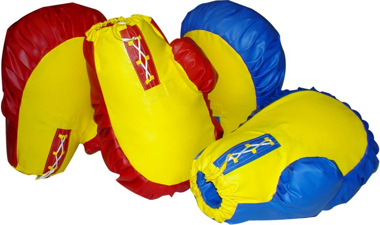Jumbo Boxing Gloves & Helmets