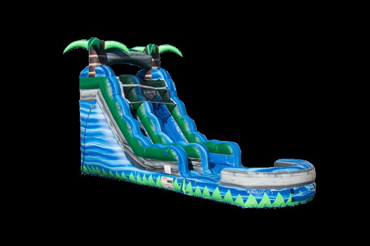 15ft Blue Crush (wet/dry) Slide