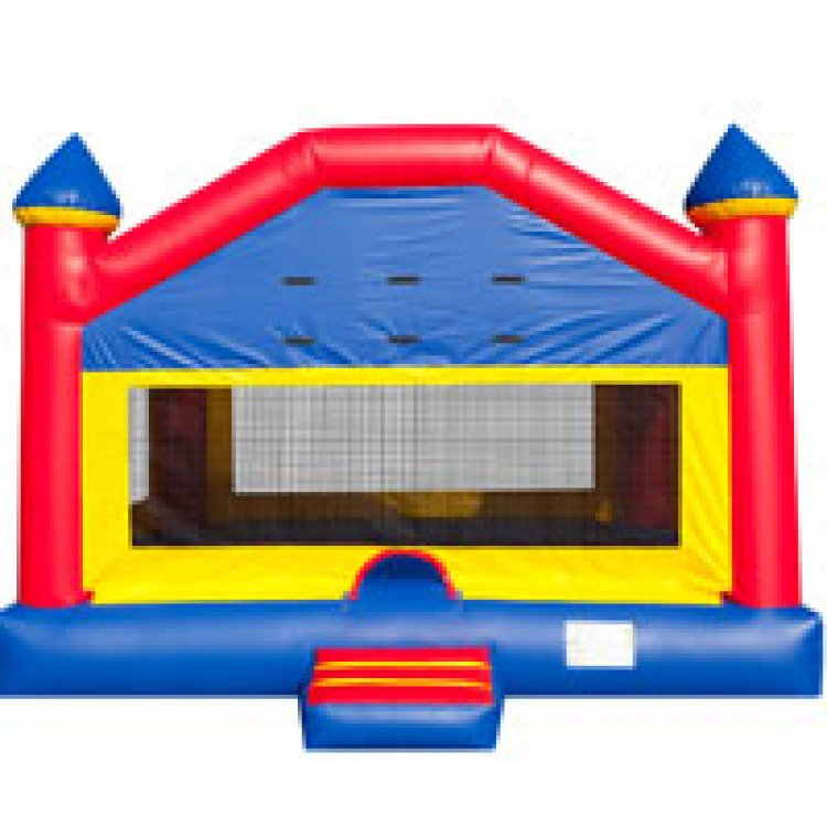 jumbo bounce house 1574095429 big Jumbo Fun House Bounce House (Jumbo)