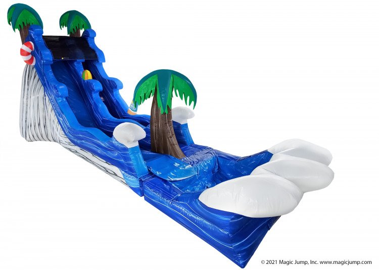 17ft Malibu Splash Slide (wet/dry)