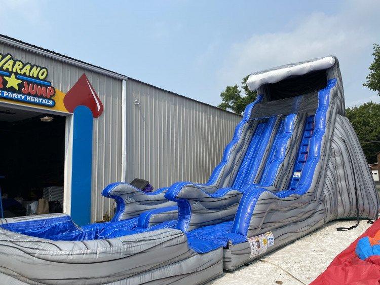 20ft Rockin Wave Dual Slide (wet/dry)